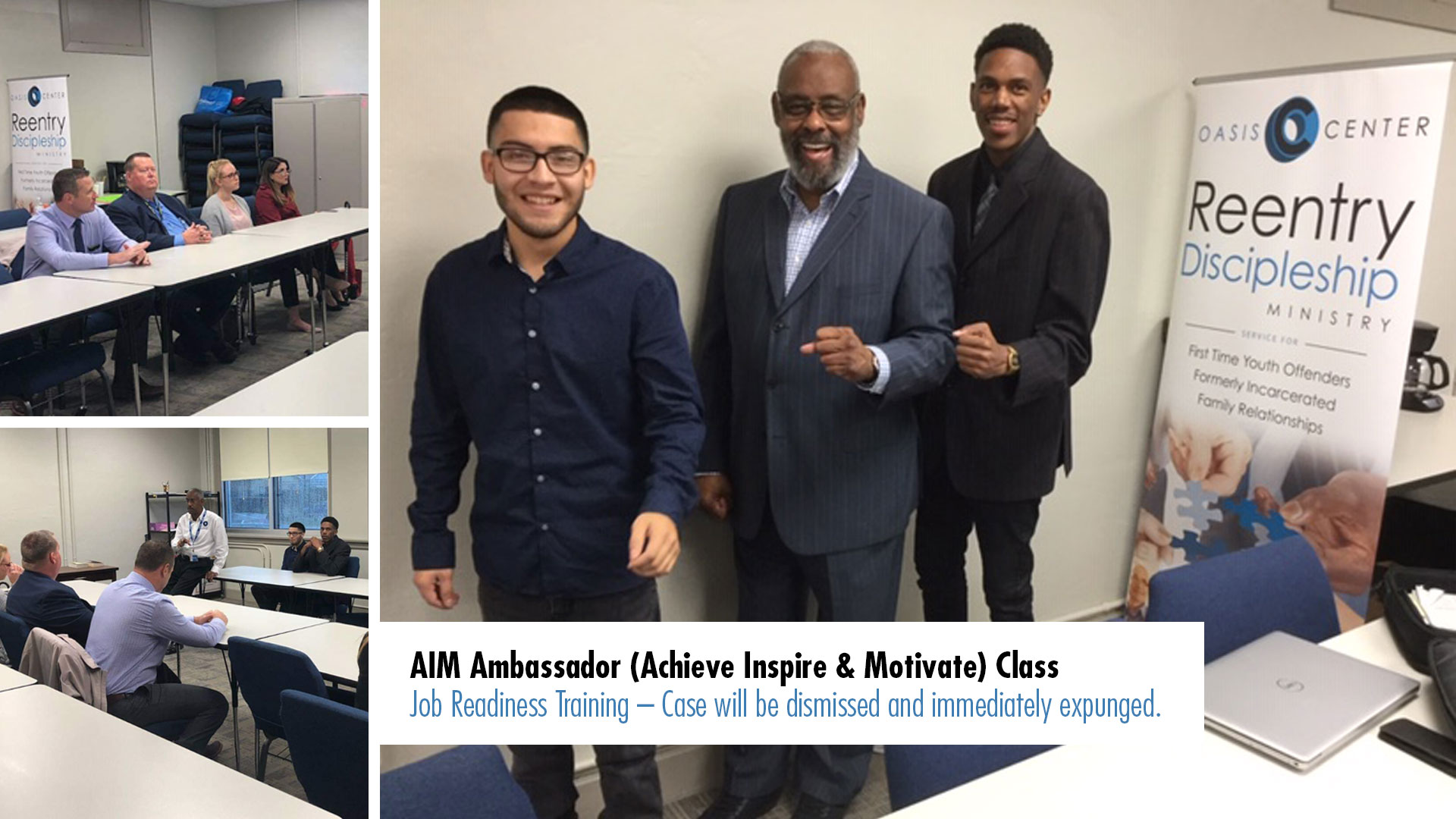 AIM Achieve Inspire & Motivate Dallas County District Attorney's Office